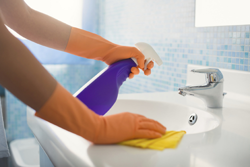 Where To Start Bathroom Cleaning
