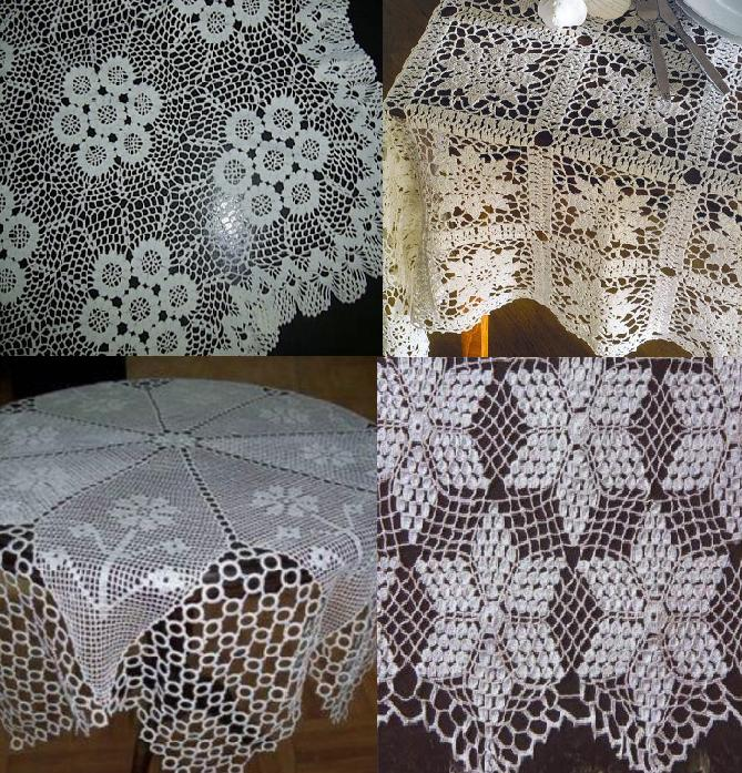 table lace art