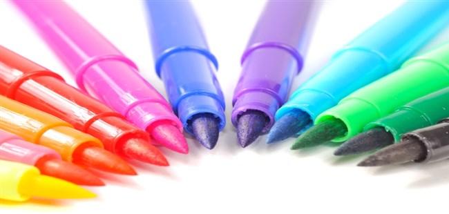 Felt-Tip Pen Marks