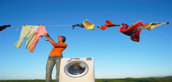 how to dry clean clothes at home